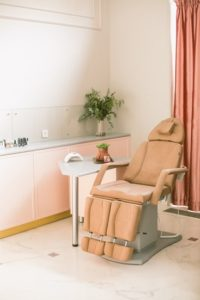 Relaxing room at medspa in Chicago.